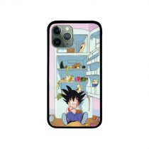 Kid Goku Eat All iPhone Case