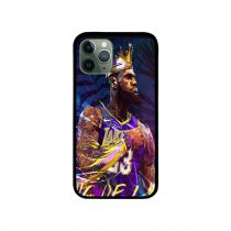 King Lebron James at the Lakers iPhone Case