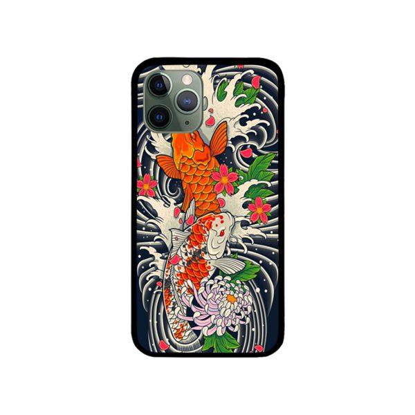 Koi Fish Pond iPhone Case
