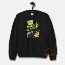 Mummy's Curse Horror Movie 1980s Sweatshirt