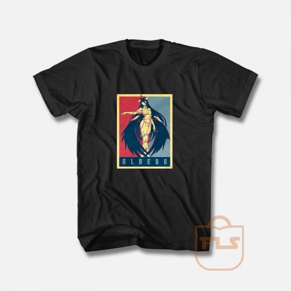 Overlord Albedo Political Anime T Shirt
