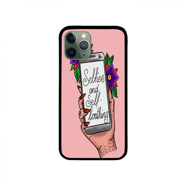 Selfies and Self Loathing iPhone Case