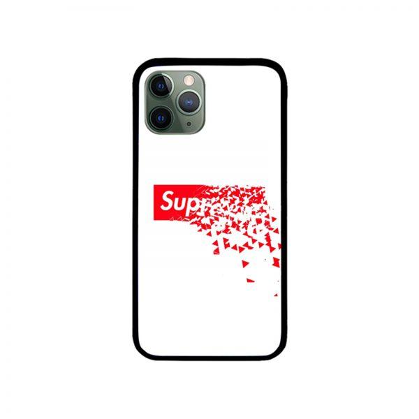 Shattered supreme box logo iPhone Case