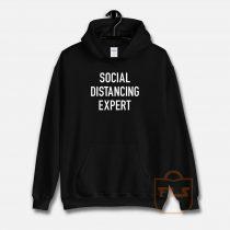 Sosial Distancing Expert Hoodie