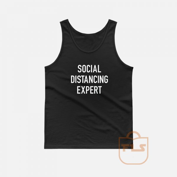Sosial Distancing Expert Tank Top