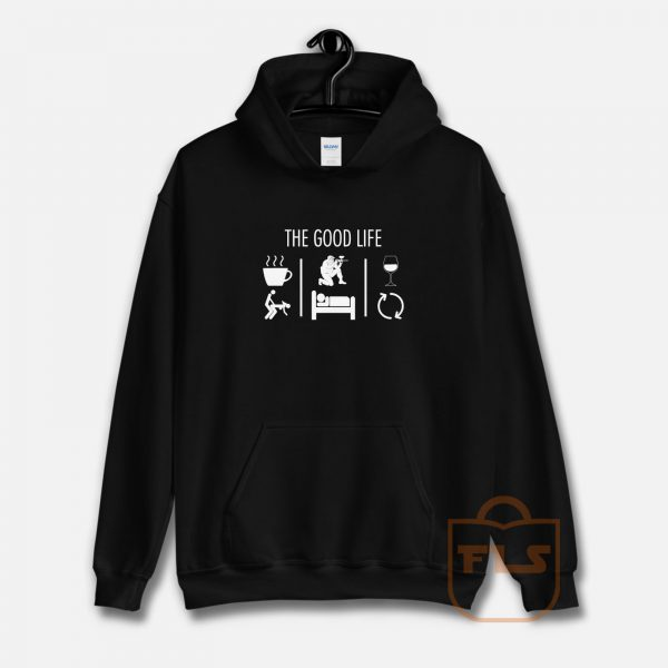 The Good Life Airsoft Player Hoodie