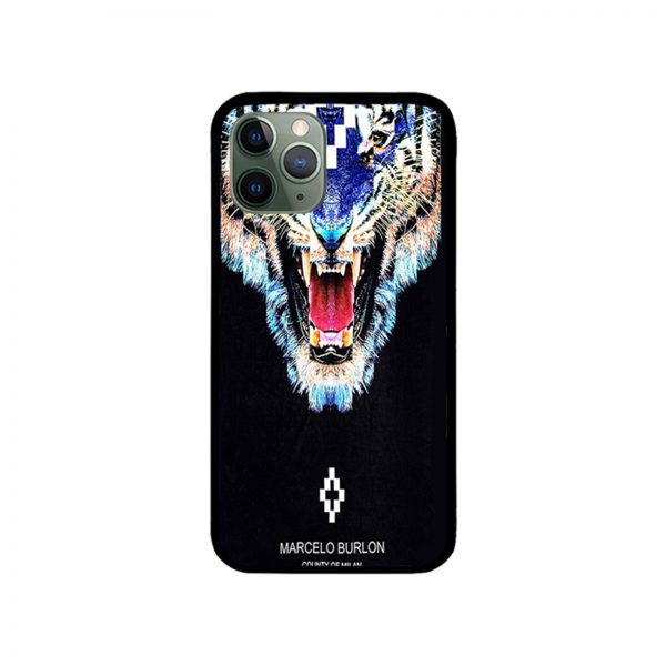 Tiger Marcelo Burlon iPhone Case