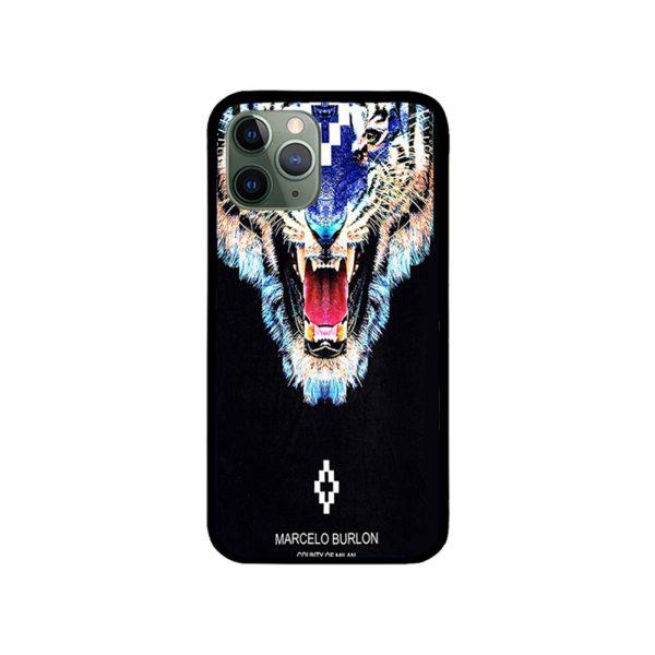 Tiger Marcelo Burlon iPhone Case