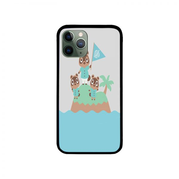 Tom Timmy and Tommy Animal Crossing iPhone Case