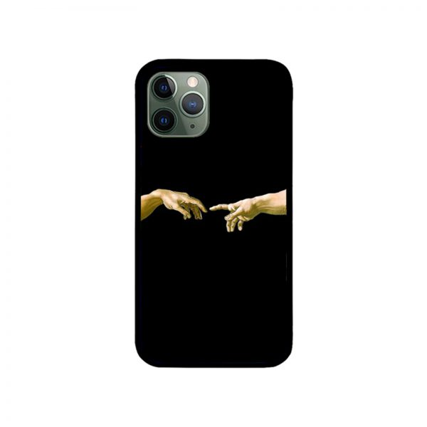 Touch of God iPhone Case