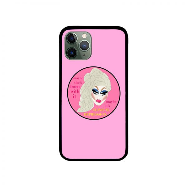 Trixie Mattel Clinical Depression iPhone Case