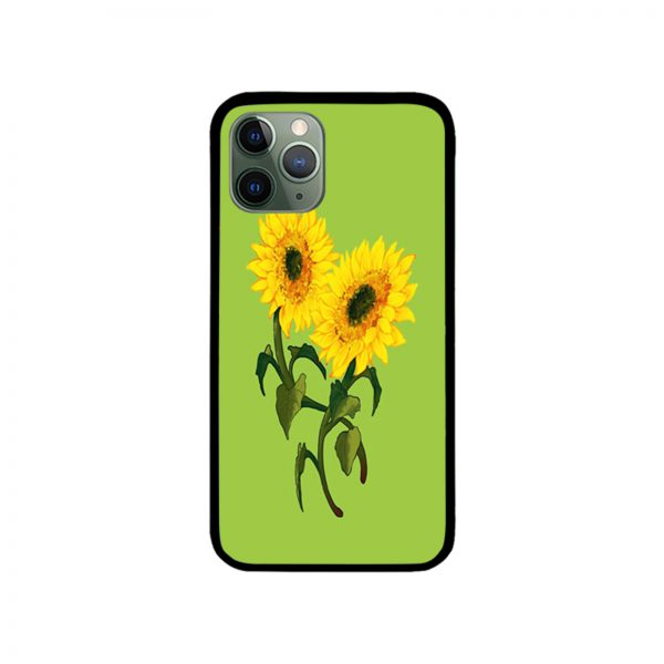 Two Sunflower iPhone Case