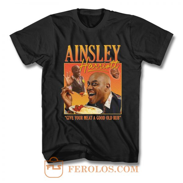 Ainsley Harriott Homage T Shirt