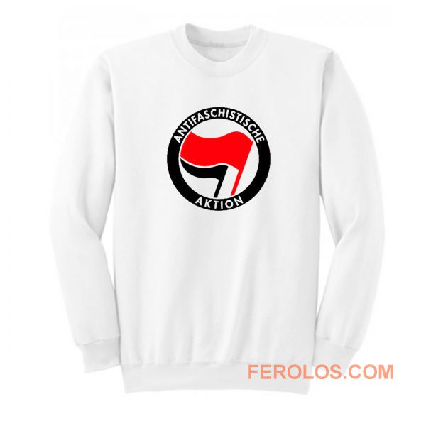 Antifaschistische Aktion Sweatshirt