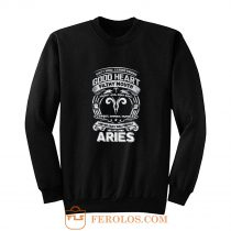 Aries Good Heart Filthy Mount Sweatshirt