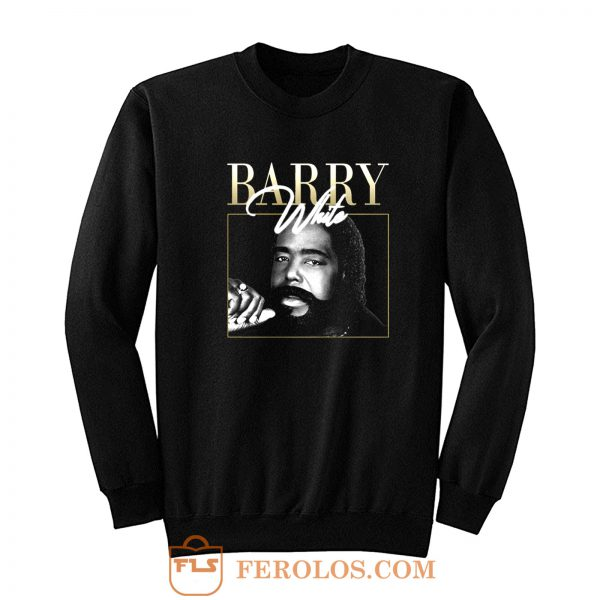 Barry White Vintage 90s Retro Sweatshirt