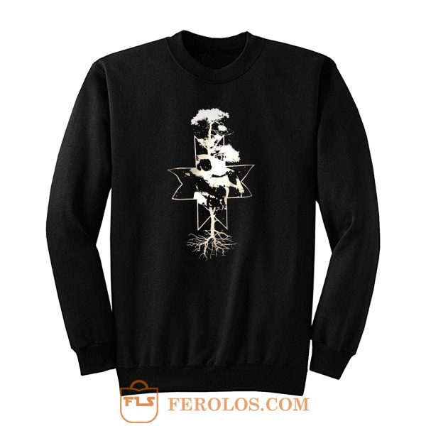 Bear skull Finnish Mythology Sweatshirt
