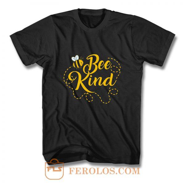 Bee Kind Funny T Shirt