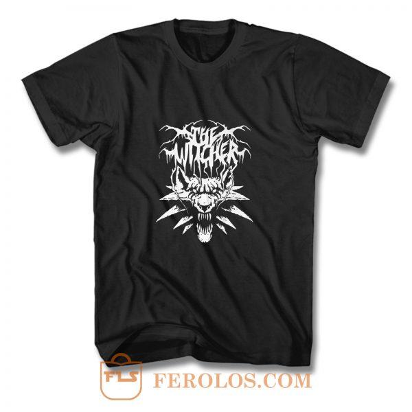 Black Metal Witcher T Shirt