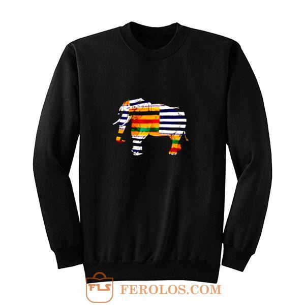 Black Pride Melanin Elephant Sweatshirt