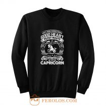 Capricorn Good Heart Filthy Mount Sweatshirt