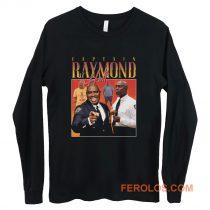 Captain Raymond Holt Homage Vintage TV Show Long Sleeve