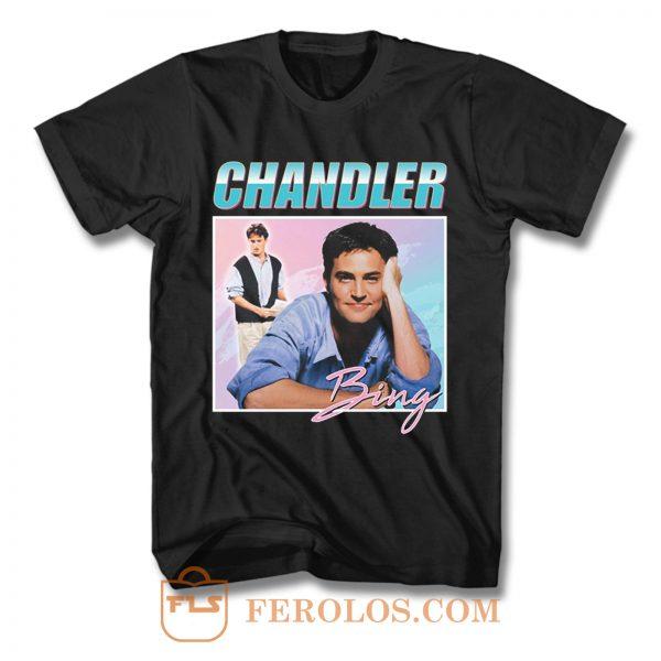 Chandler Bing Friends Homage T Shirt