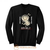 Chrysanthemum Japanese Art Sweatshirt