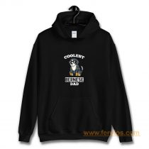 Coolest Bernese Mountain Dog Dad Hoodie