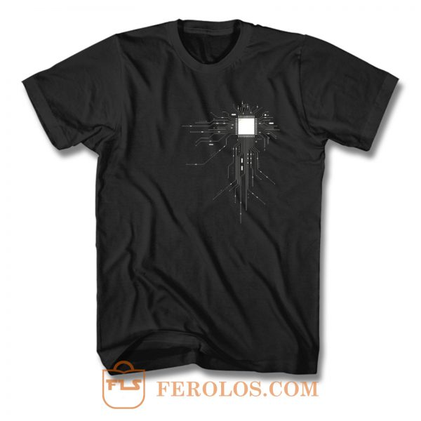 Cpu Geek Gamers T Shirt