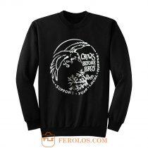 Crows Before Bros Sweatshirt