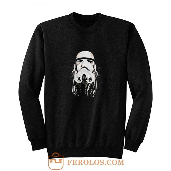 DJ Storm Trooper Parody Sweatshirt
