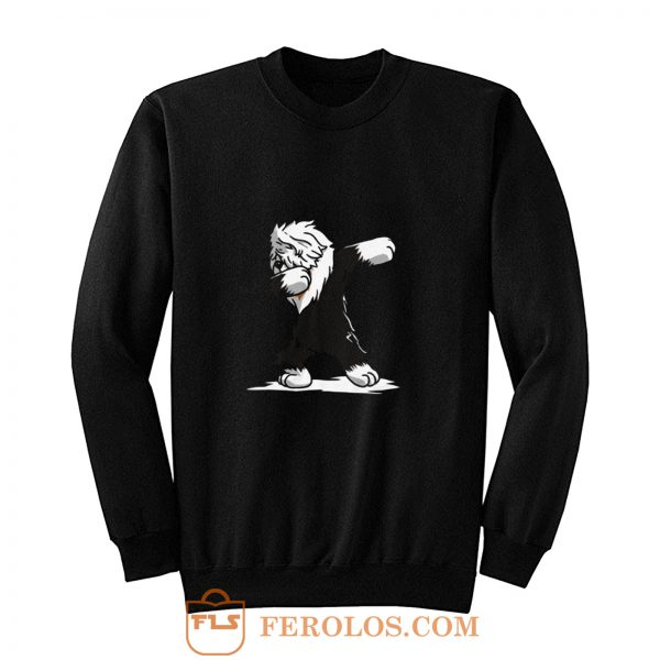Dabbing Old English Sheepdog Sweatshirt