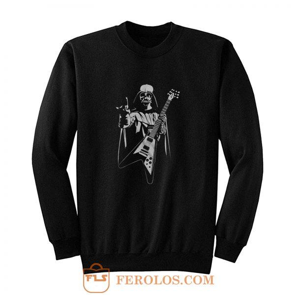 Darth Vader Guitar Parody Sweatshirt
