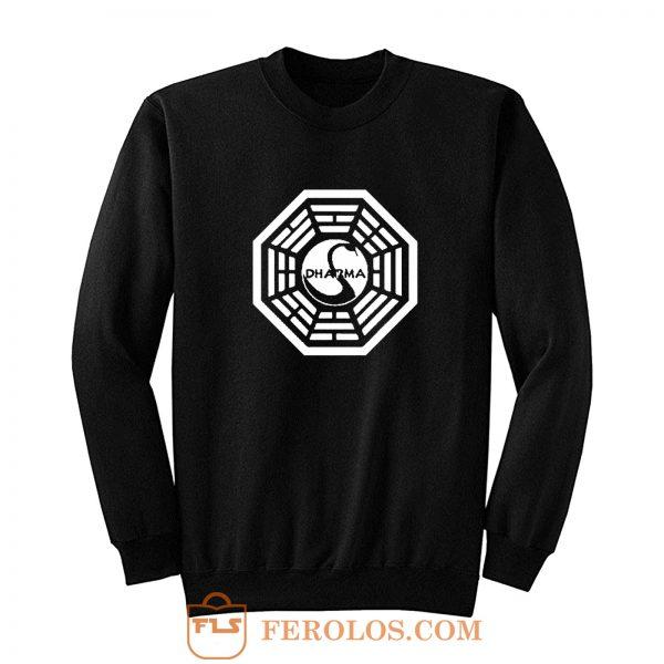 Dharma initiative logo Sweatshirt