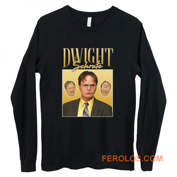 Dwight Schrute Homage Long Sleeve