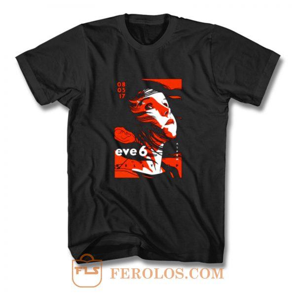 Eve 6 Concert Tour T Shirt
