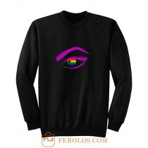 Eye LGBT Lesbian Gay Bisexual Transgender Sweatshirt