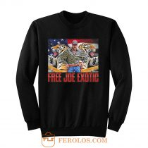 Free Joe Exotic Tiger King Sweatshirt