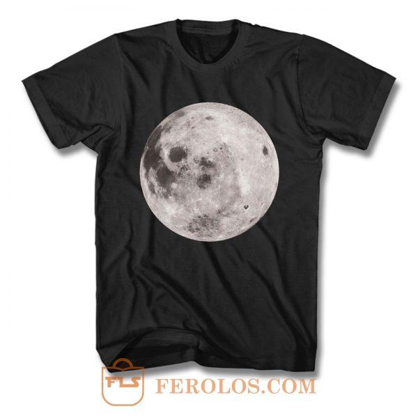 Full Moon Grunge T Shirt