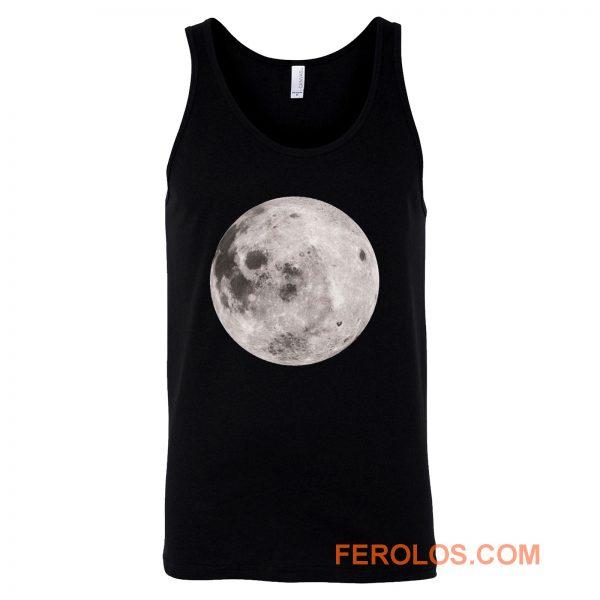 Full Moon Grunge Tank Top