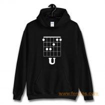 Funny Hidden Message Guitar Hoodie