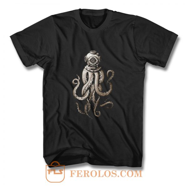 Giant Octopus T Shirt