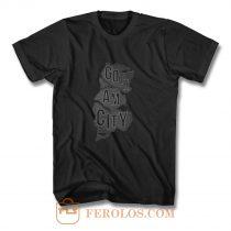 Gotham City Map T Shirt