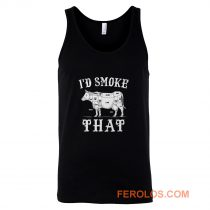 Id Smoke That Cow Tank Top