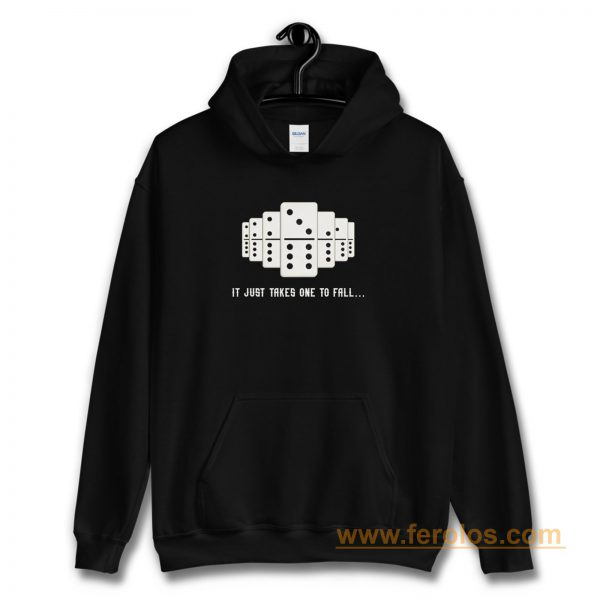 It Just Takes One To Fall Tiles Puzzler Game Hoodie