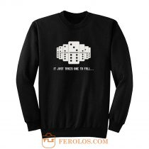 It Just Takes One To Fall Tiles Puzzler Game Sweatshirt
