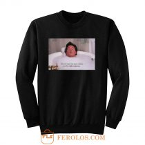 Its So Hard To Care When Youre This Relaxed Chandler Bing Friends Sweatshirt