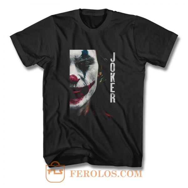 Joker Half Face T Shirt