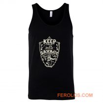 Keep Calm And Let Savage Handle It Tank Top